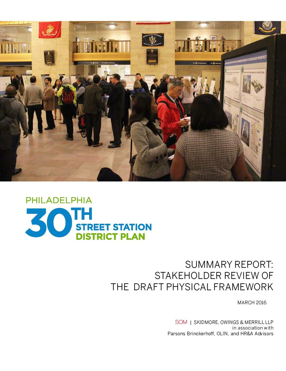 Stakeholder Review of the Draft Physical Framework  (PDF, 14 MB), March 2016