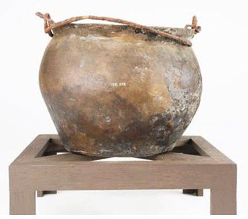 Roman Cooking Pot via  BBC