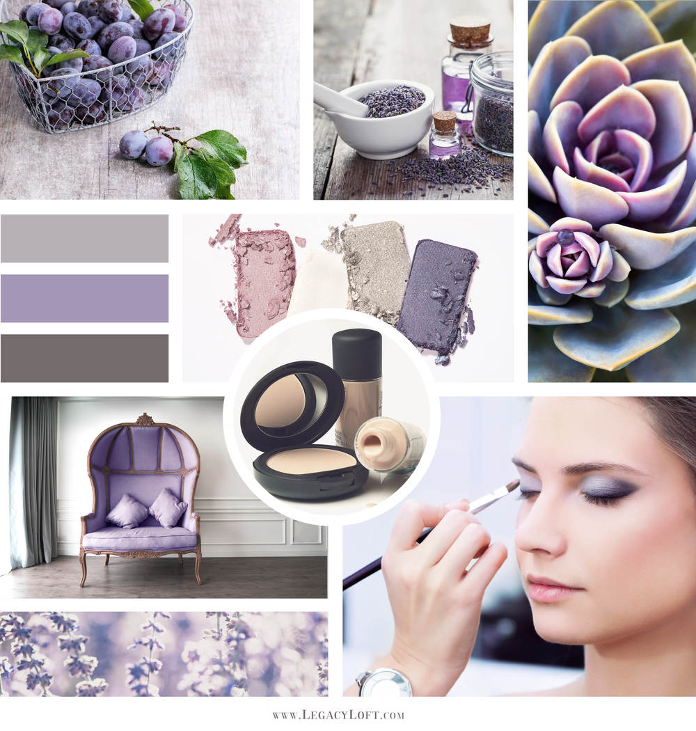 Essential Oils and Skincare Mood Board
