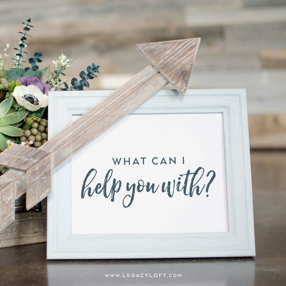Picture Frame and Florals Custom Stock Image