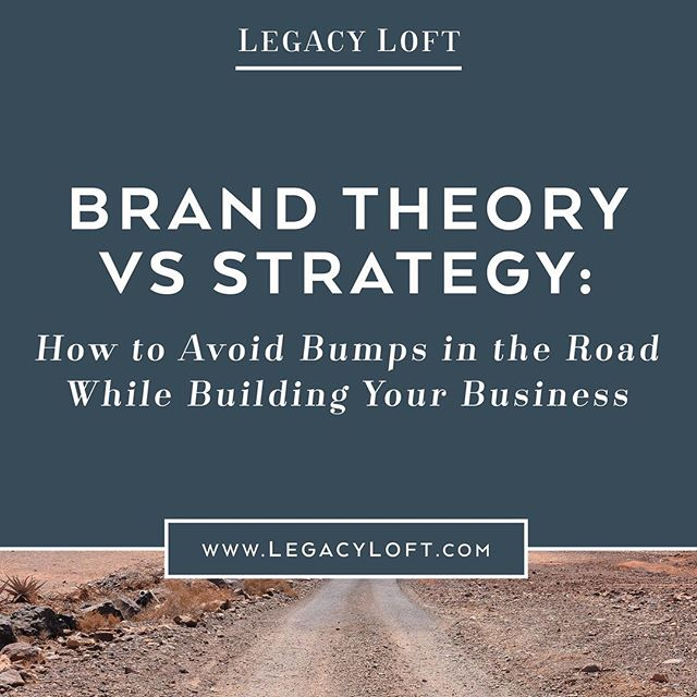 Is your brand built on theory or strategy? If you'd like to avoid bumps in the road and get on the faster route to success, you need a strong foundation and strategy. What does this look like? Click the link in my profile to find out.⠀ ⠀ Also, don't miss the free QUIZ at the end to determine whether you're on the path to profit or a dirt road detour!⠀ ⠀ ⠀