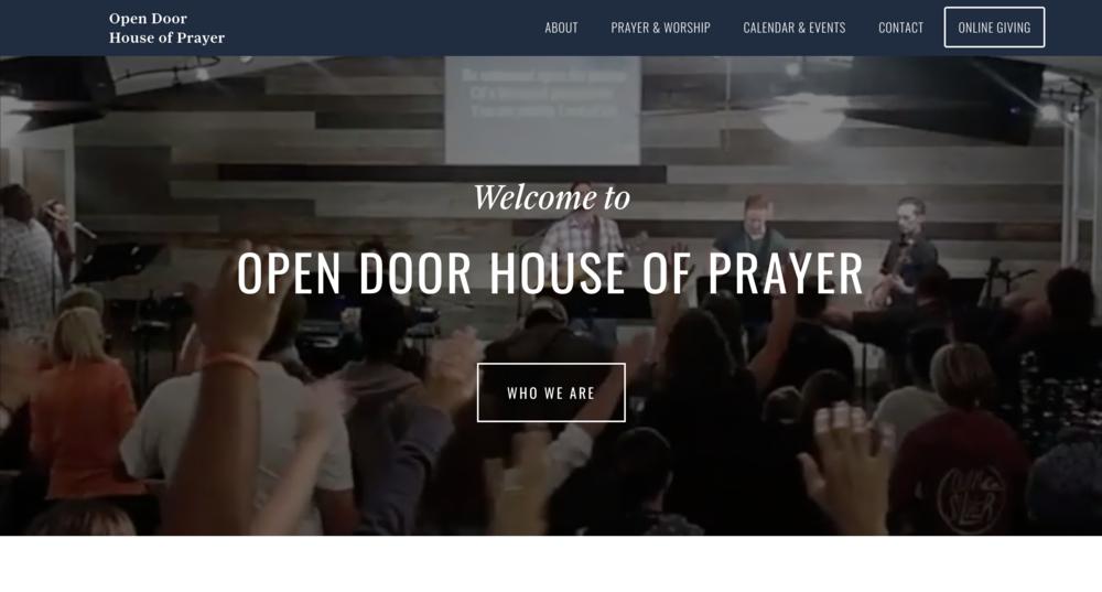 Open Door House of Prayer (In Progress)