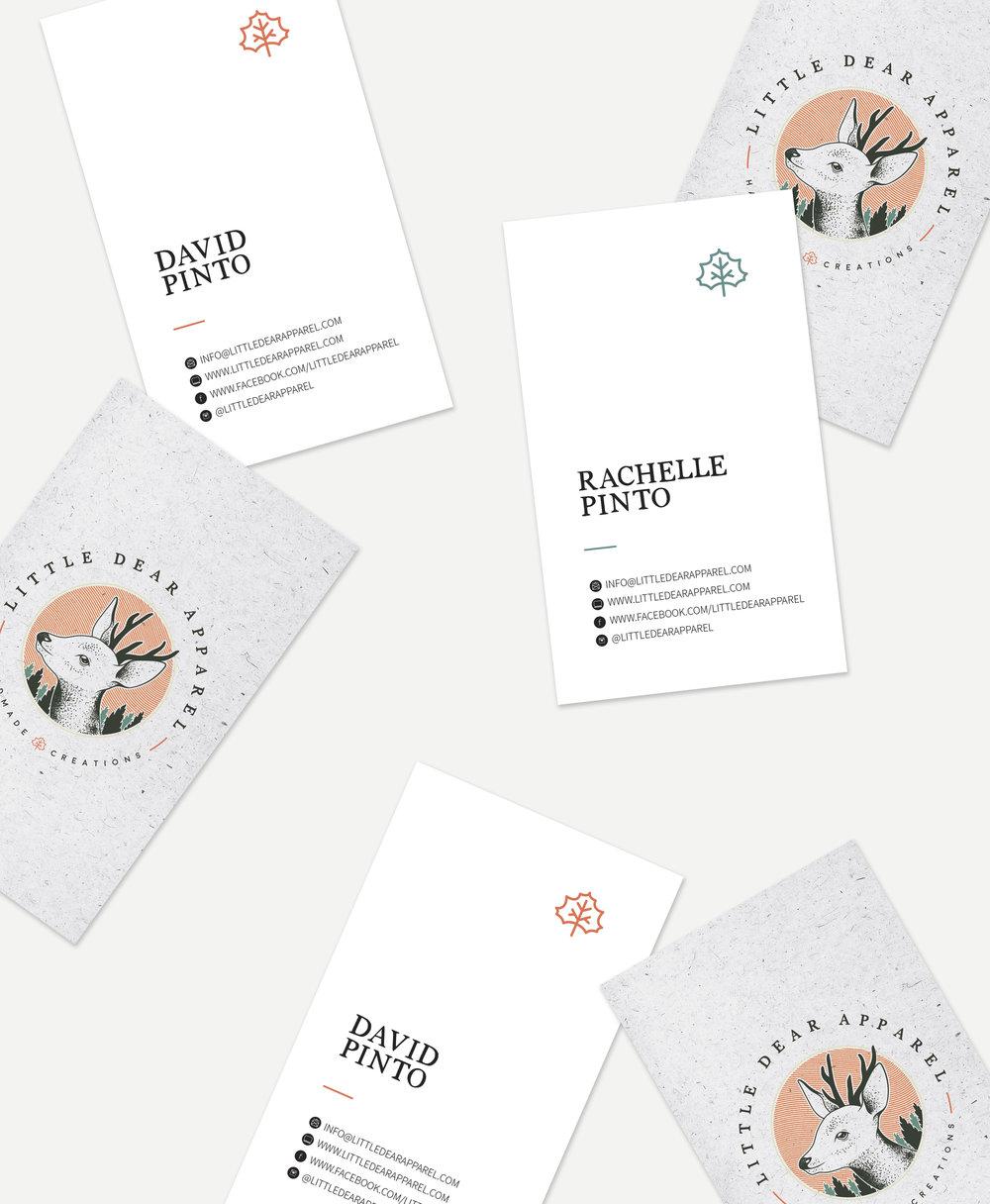 little-dear-apparel-winnipeg-branding-design-business-cards-clover-and-crow