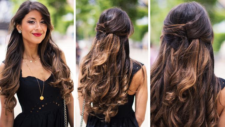 Half Up French Twist Luxy Hair Blog All About Hair