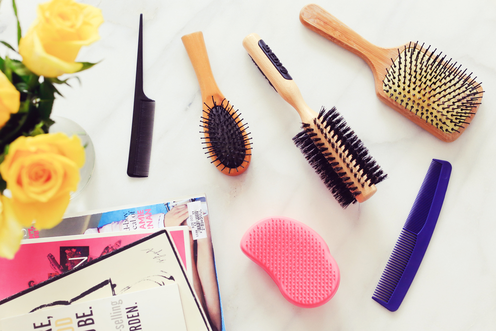 all about hair brushes