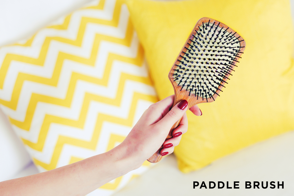 Paddle Brush Which Hair Brush To Use When