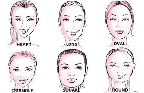 consider your face shape when you're thinking about cutting your bangs