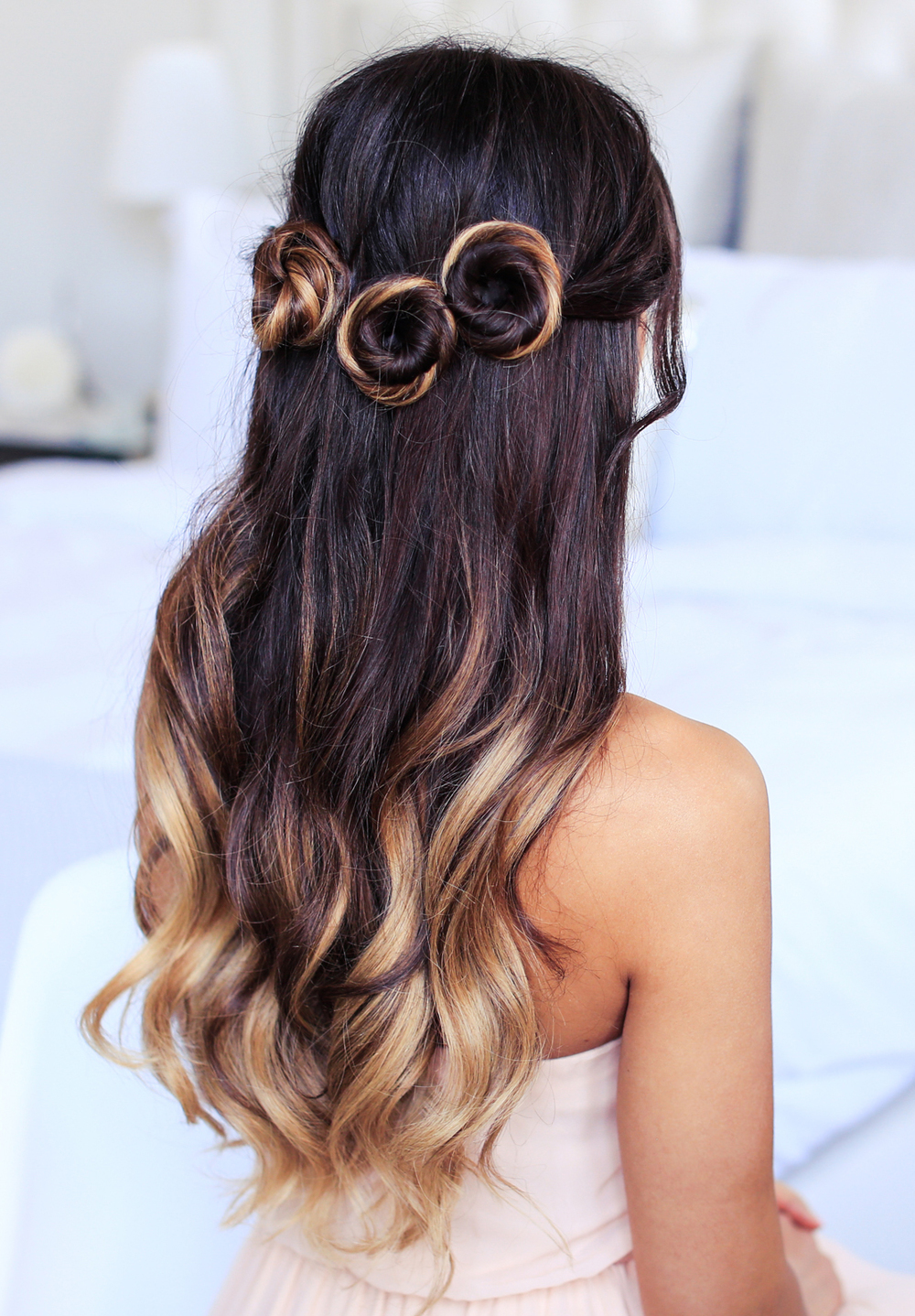 Romantic Prom Hairstyle - Luxy Hair