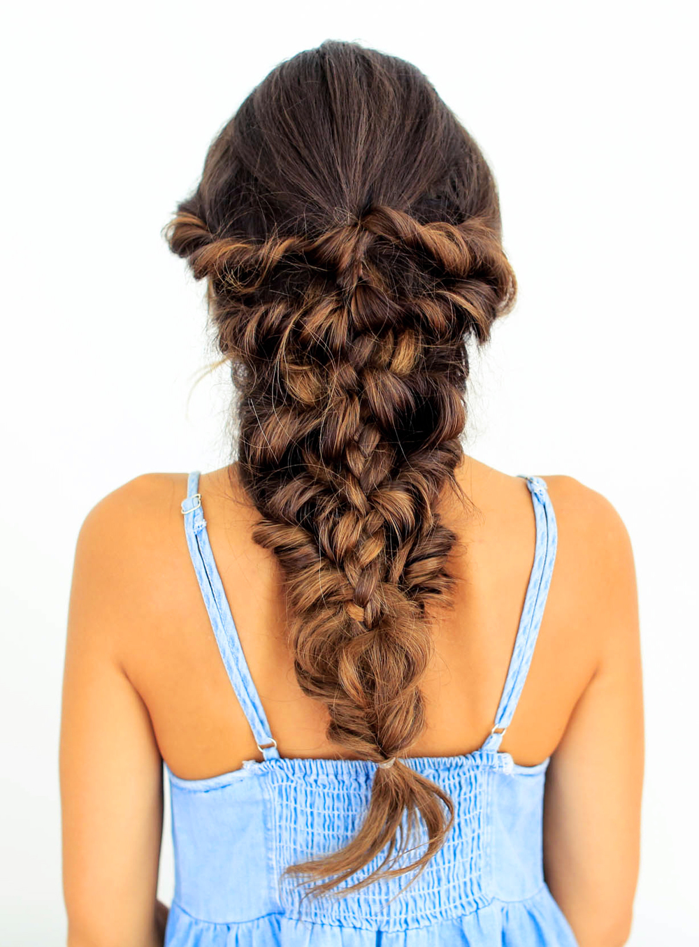 Mermaid Braid Tutorial Luxy Hair