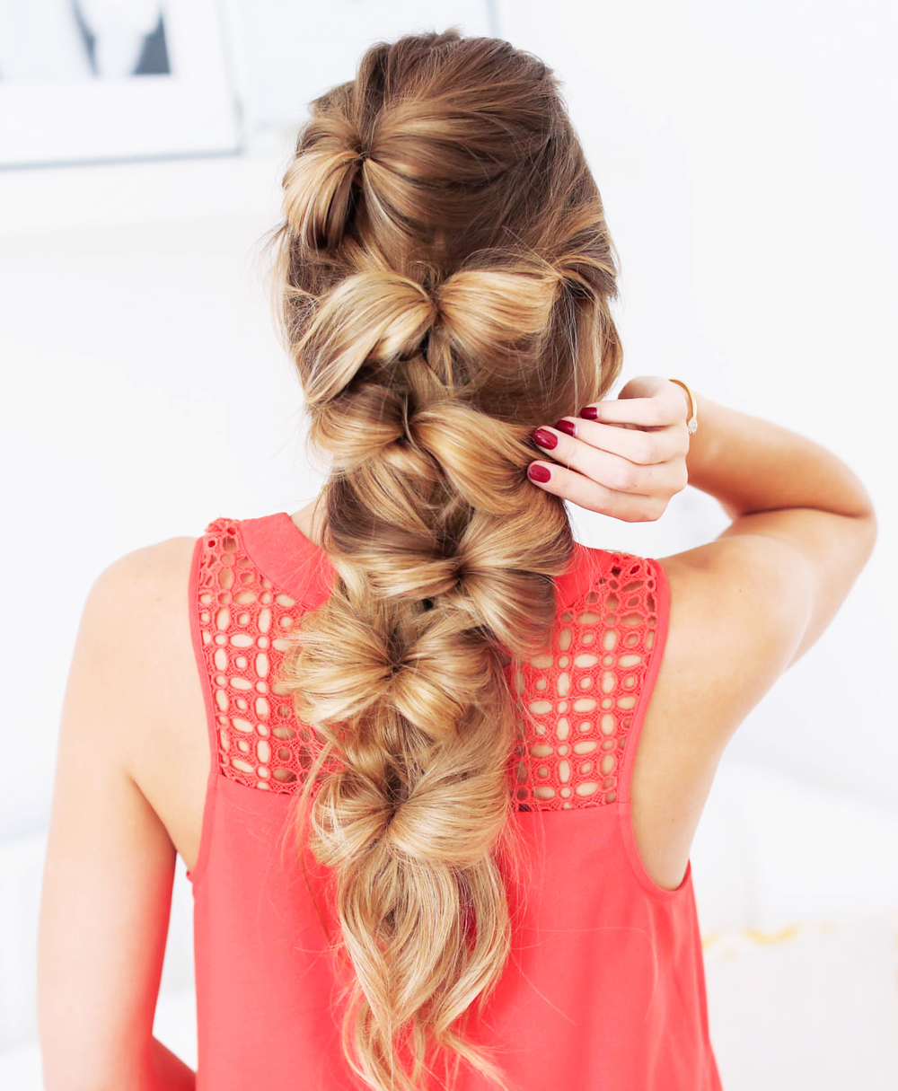 Excellent The Bow Braid Luxy Hair Hairstyle Inspiration Daily Dogsangcom