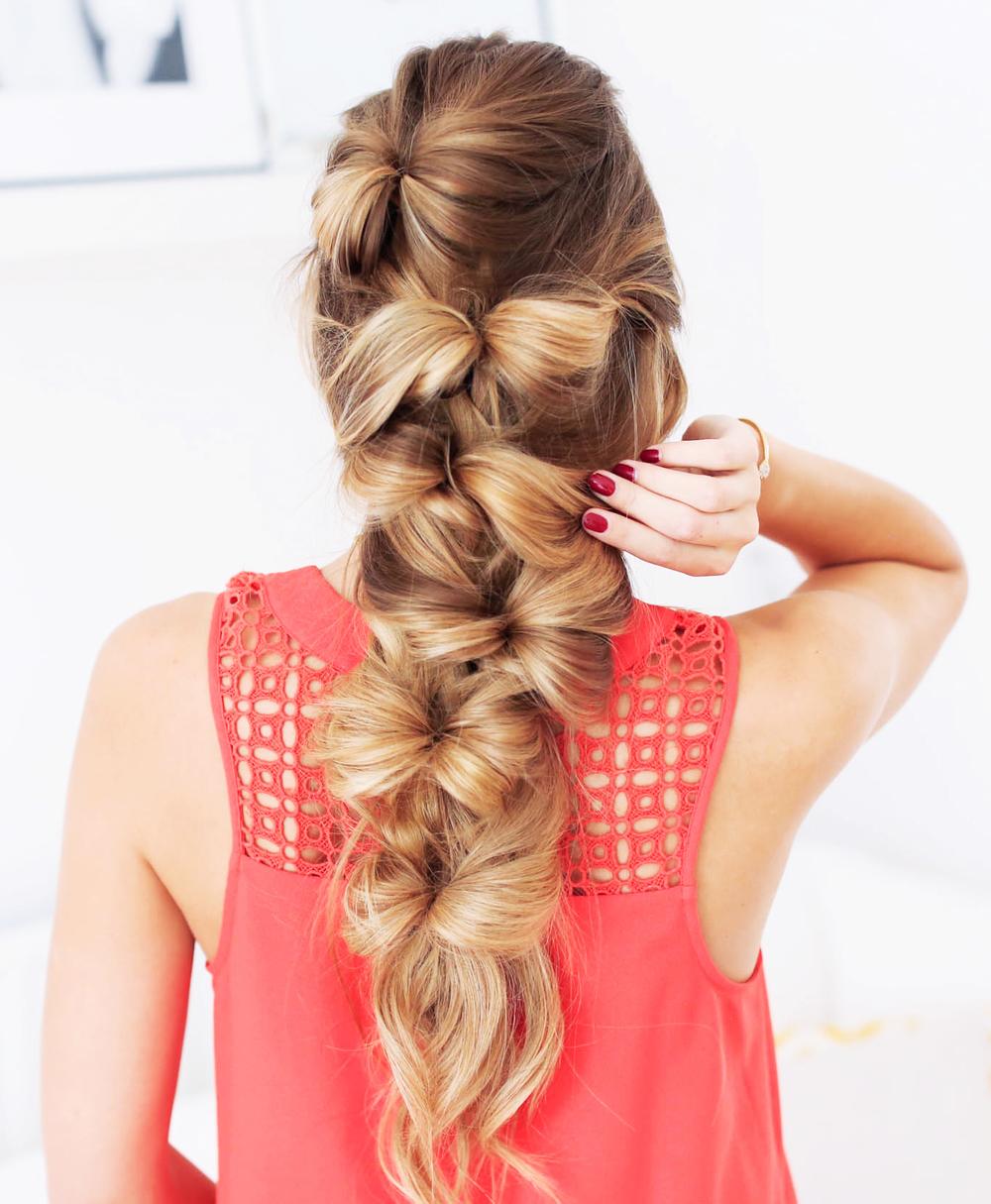 Fine The Bow Braid Luxy Hair Hairstyles For Women Draintrainus