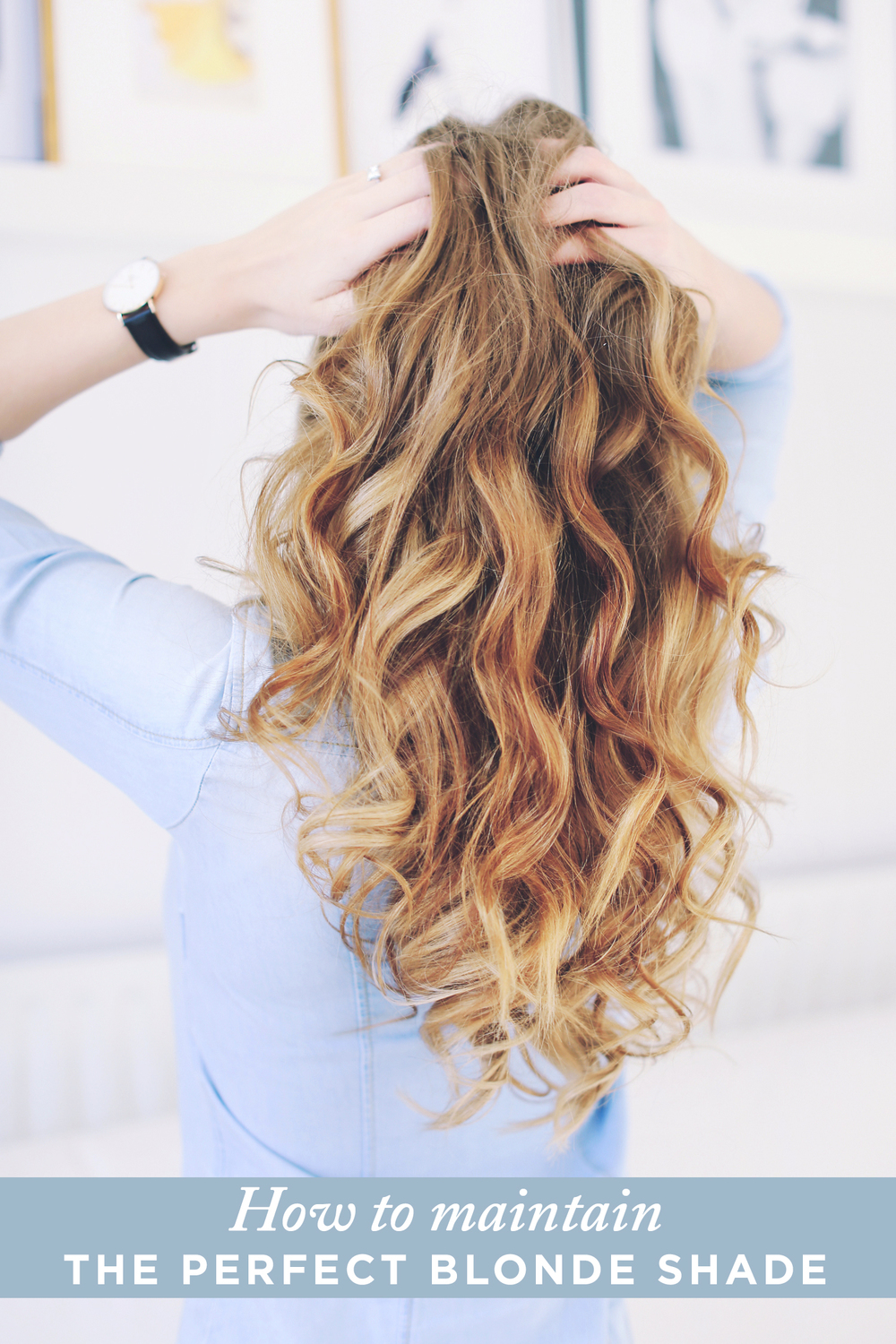 Blonde Hair Care How To Maintain The Perfect Blonde Shade Luxy Hair