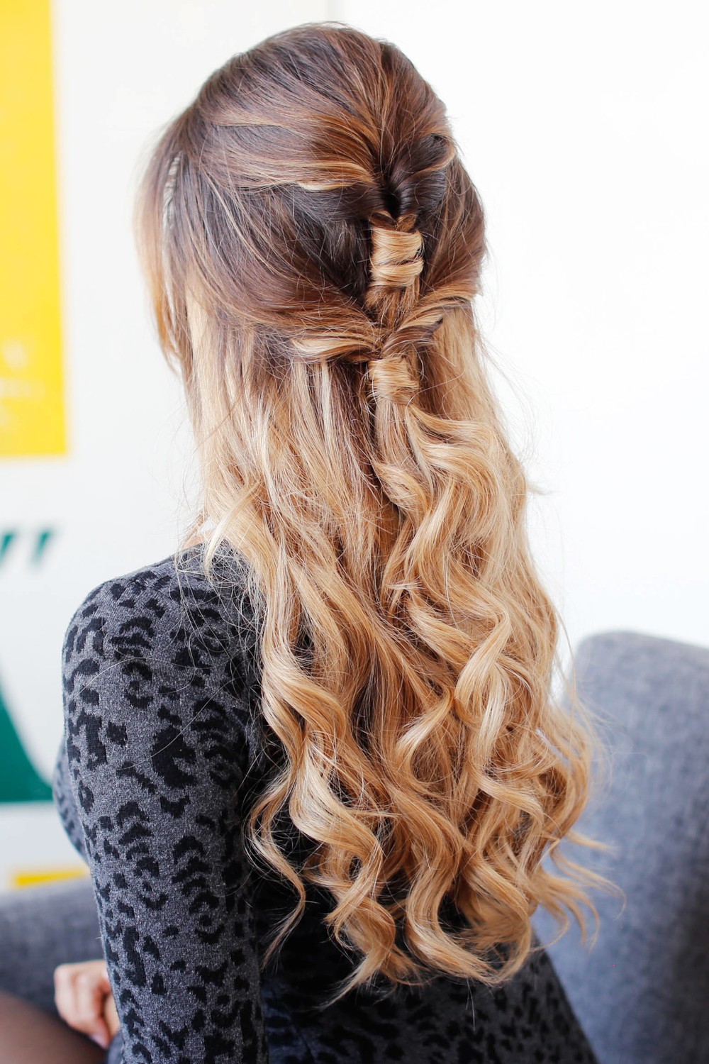 Cute Amp Easy Holiday Hairstyle Luxy Hair