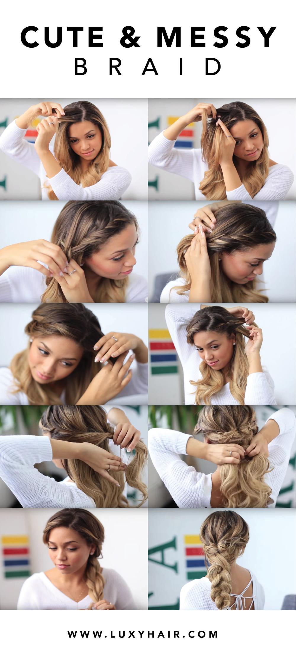 Быстрая укладка на длинные волосы своими руками фото пошагово