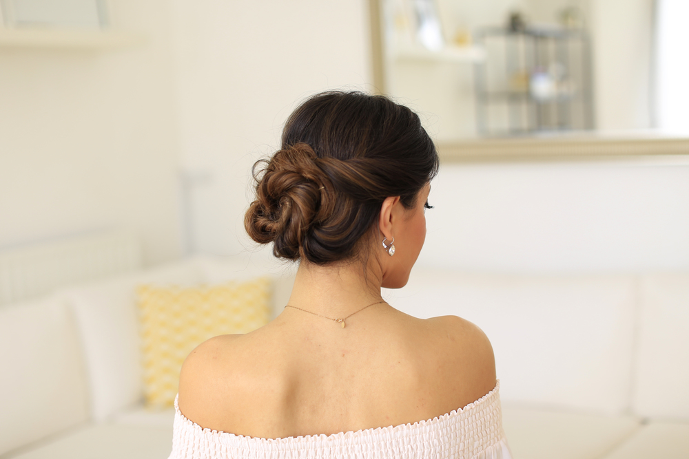 2 Minute Elegant Bun Hair Tutorial