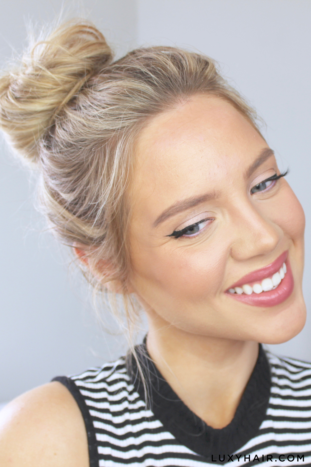 Messy Bun: How To Do A Messy Bun - 3 Cute & Easy Steps – Luxy Hair