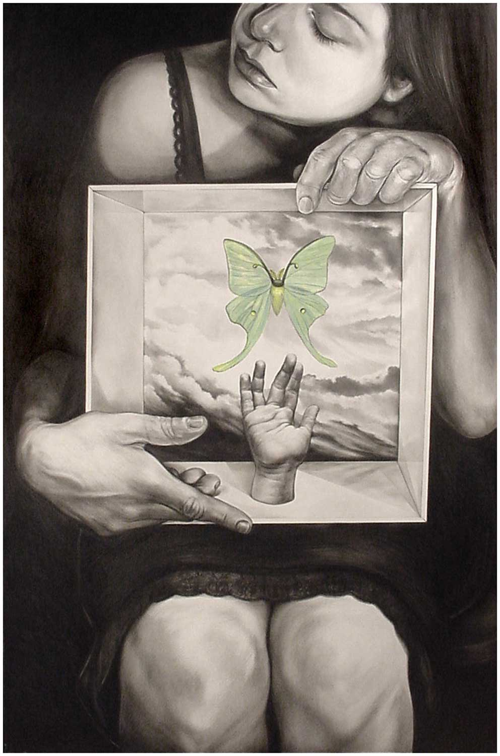Self-portrait No. 37 (The Entomologist's Daughter)
