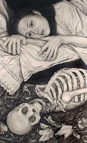 """Nocturne - graphite - 41x27"""""""