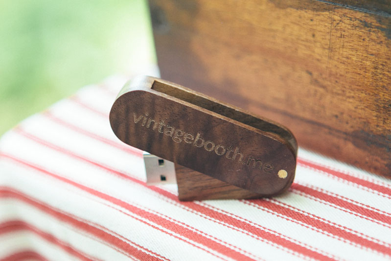 USB for vintage photobooth images