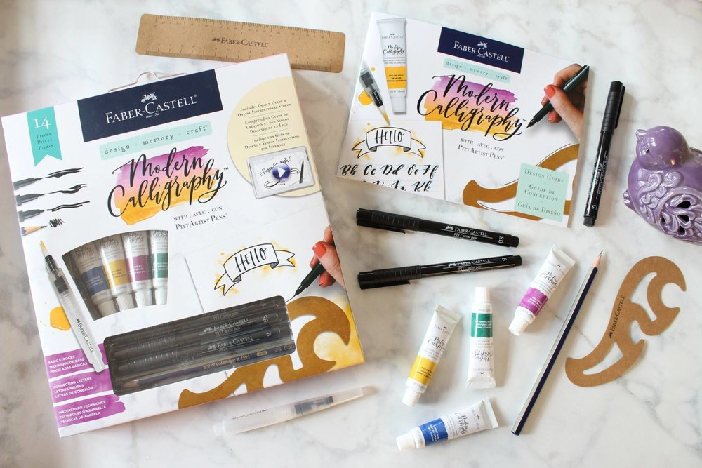 Modern Calligraphy Kit by Faber-Castell & Manayunk Calligraphy