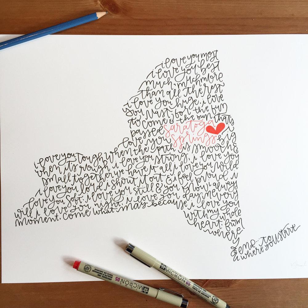 New York State Custom Illustration - I Love You.jpg
