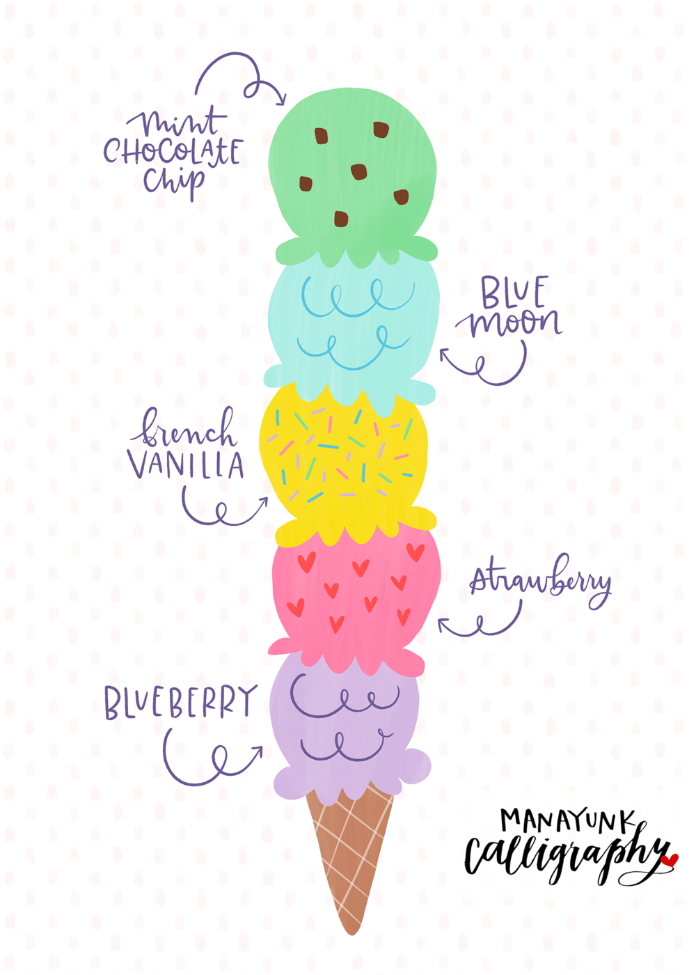 Ice Cream Tall Cone PNG.png
