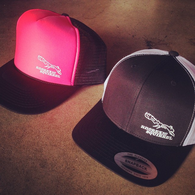 Hats are finally here and on sale at the Santa Cruz Bike Festival this weekend!