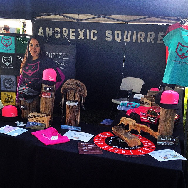 Squirrel booth is alive!