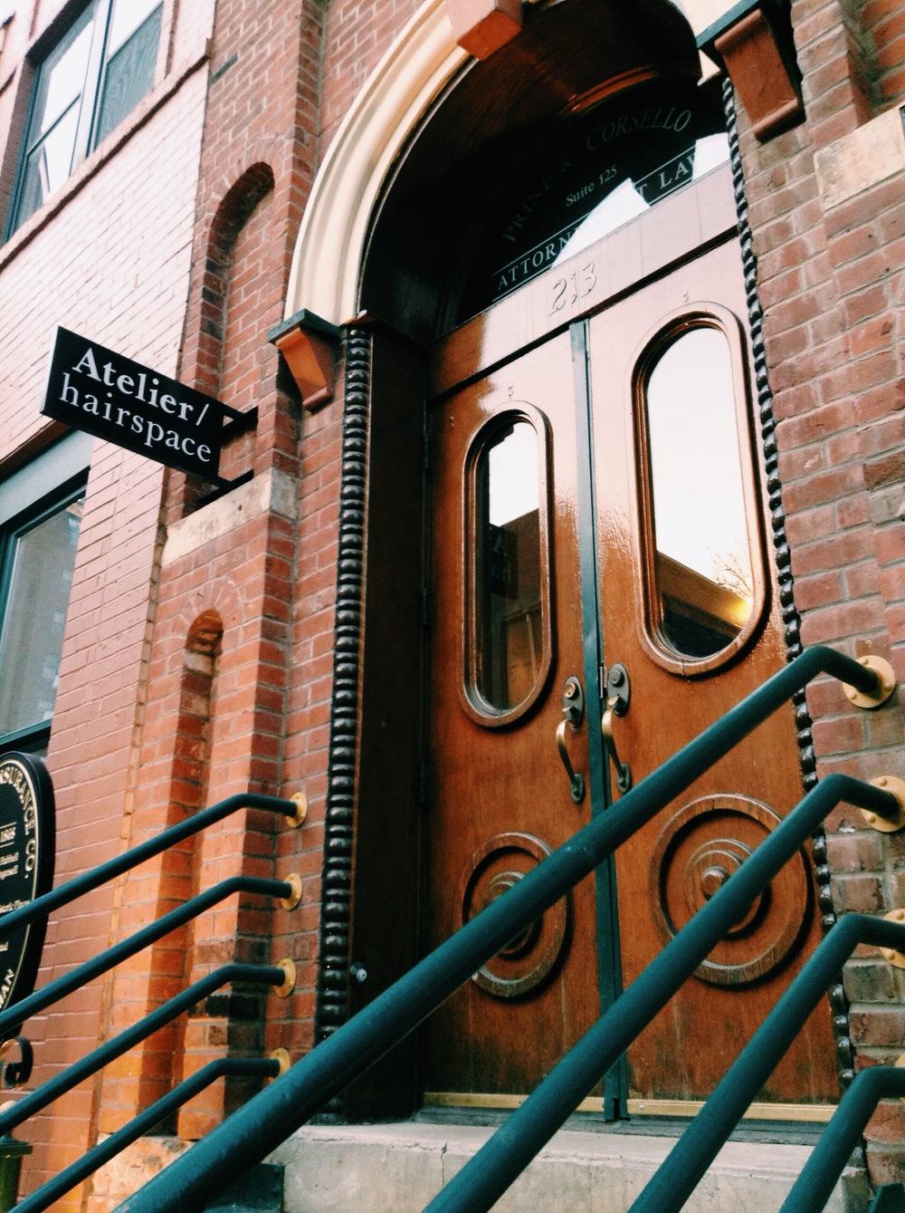 Atelier /hairspace 213 4th Street, Suite 16 Des Moines, Iowa 50309