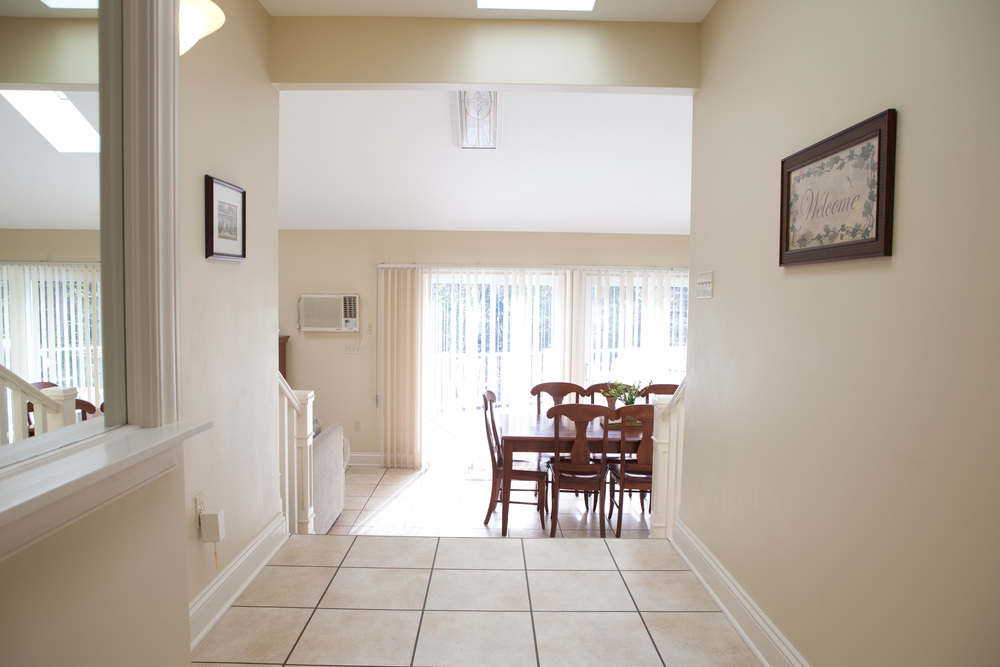 Deluxe Three Bedroom Hallway and Dining Room