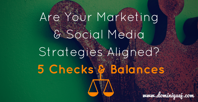 Social media and marketing strategies