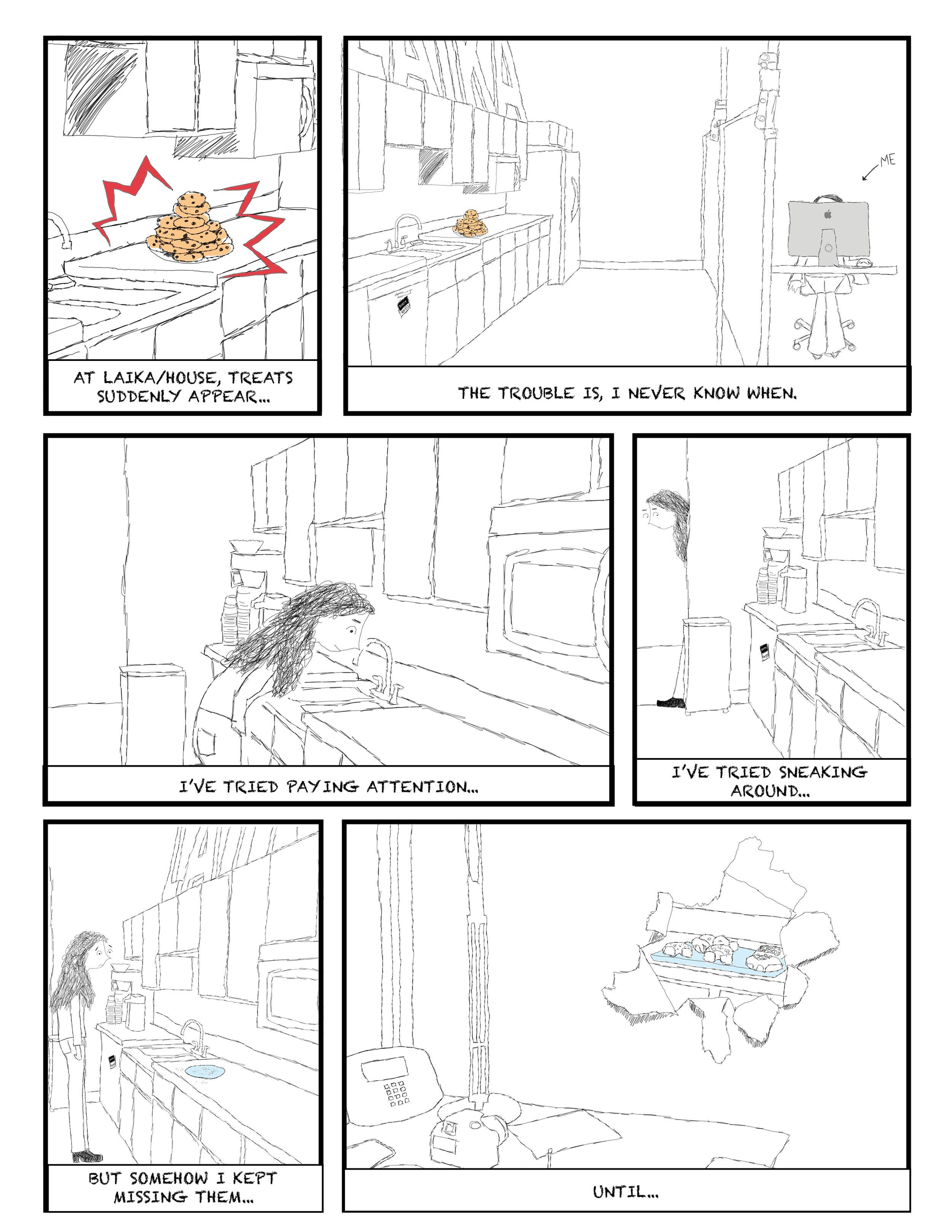 TREATS comic