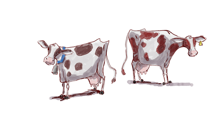 Cows_stylized_paint13