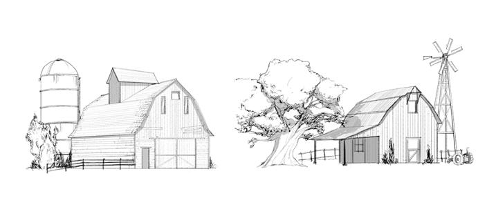 line barns