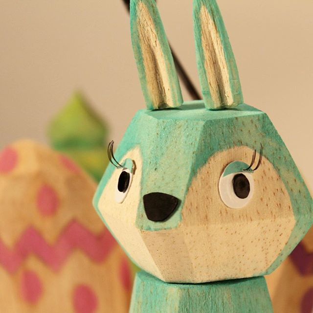 Take a look inside our Easter basket of tricks - behind the scenes with a bunny. . . Concept + direction by @dontfretdotorg (vocals by Gee's daughter) . Animation: @animangler . Puppet/props: @margarethelen . See our past post for the entire fun.