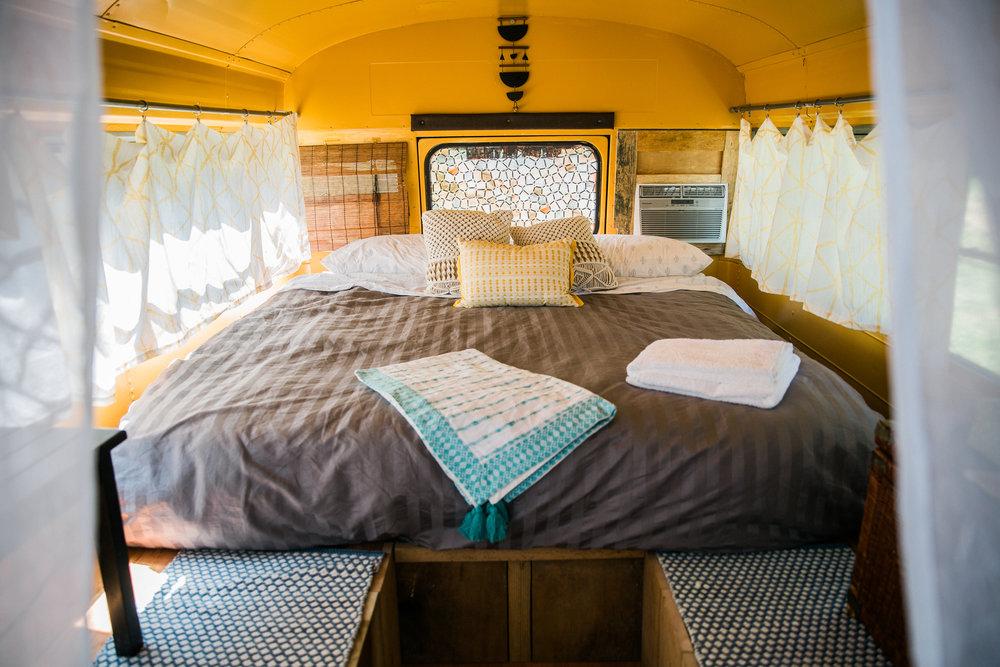 Bohemian Double Decker School Bus