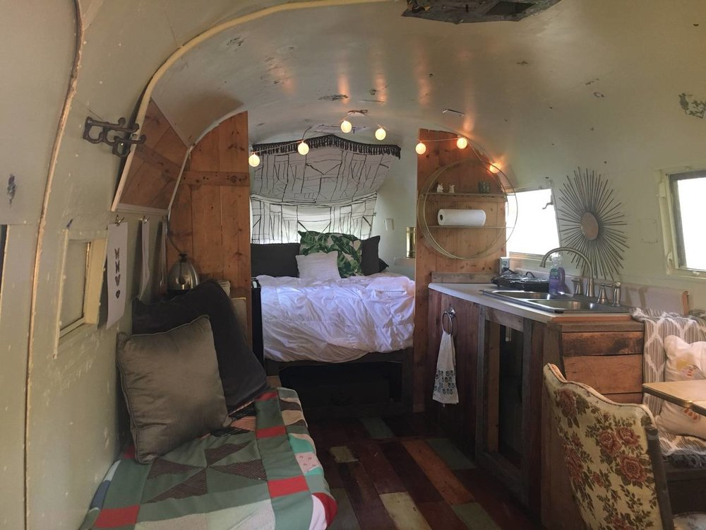 Prayerstream : Vintage Inspired Airstream Getaway - $40 a night2 guests, 1 bed, 2 shared baths near by