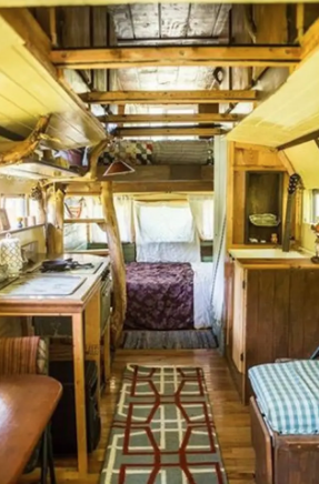 Gerlach : Cozy Woodland Cottage Bus - $50 a night4 guests, 2 beds, 2 shared baths near by*Pet Friendly*