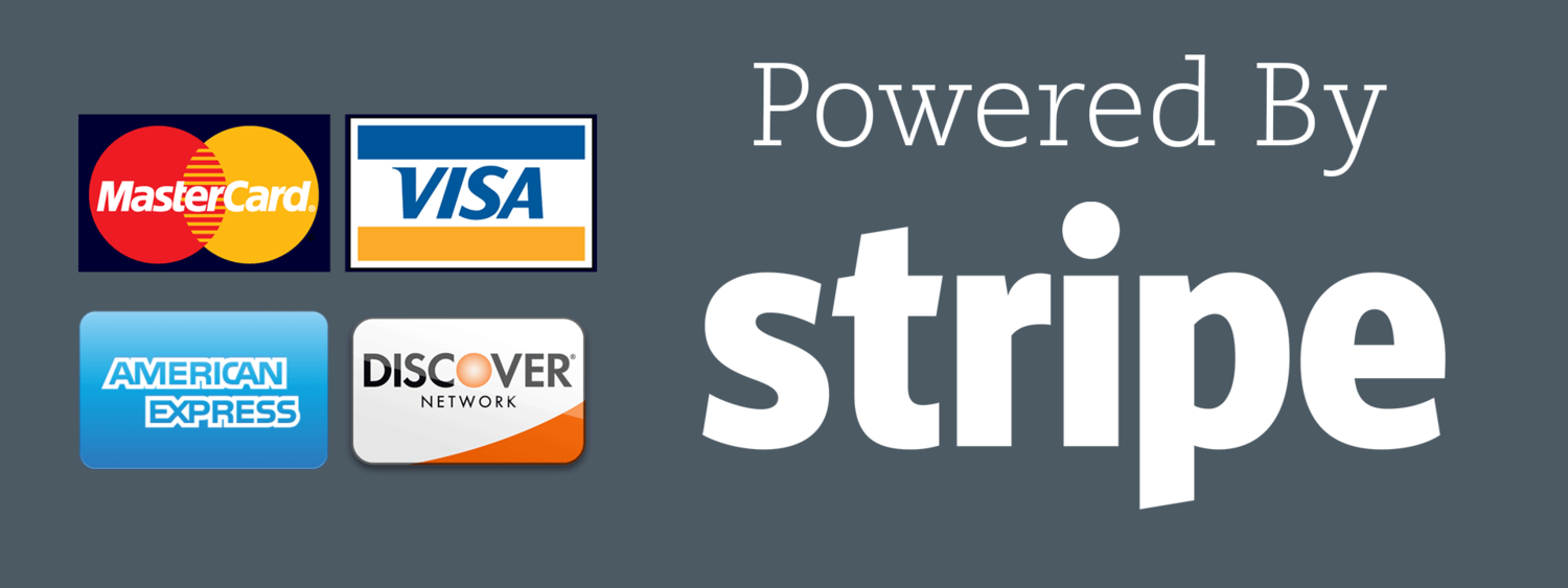 Card payments powered by Stripe