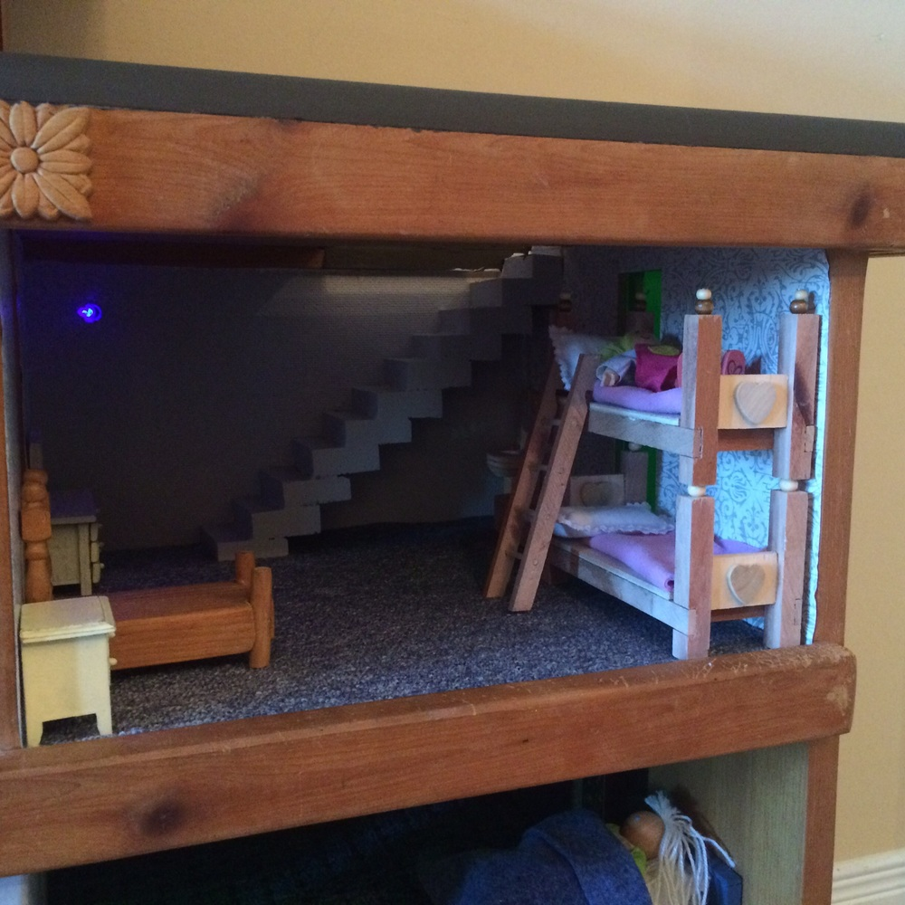 Check out these sweet bunk beds