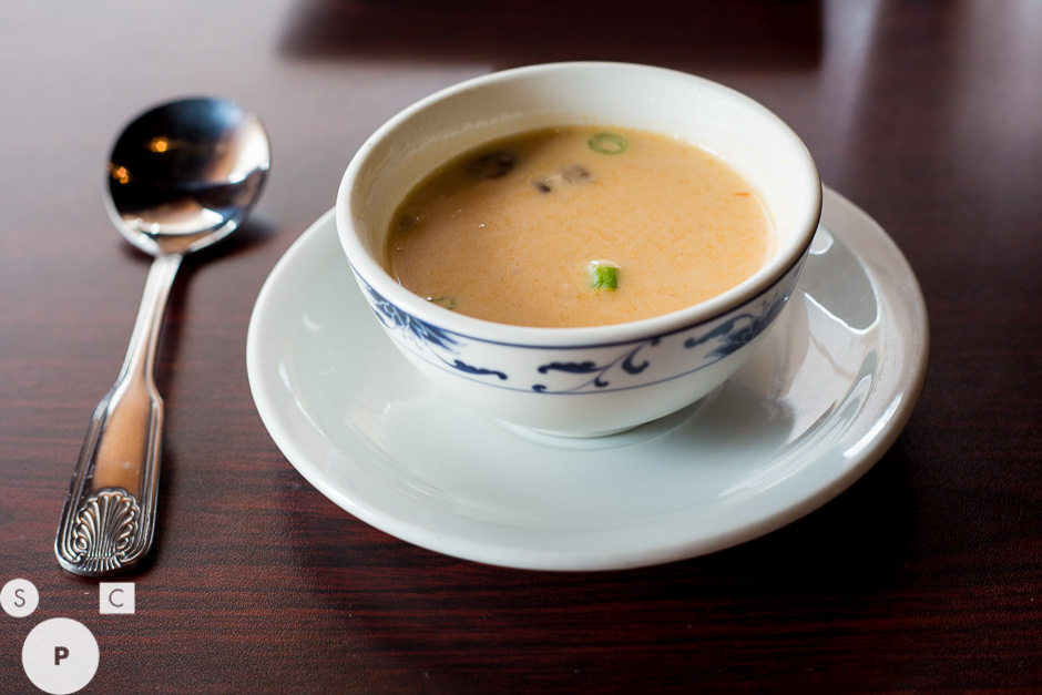 Thai Heaven Newnan, GA Coconut Soup © Susan Crutchfield Photography