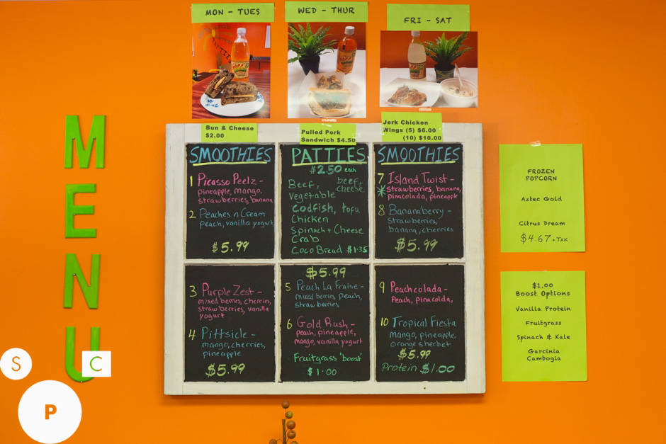 Twisted Peelz Newnan, GA Menu