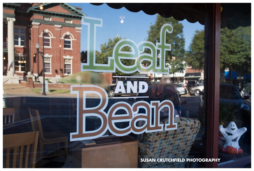 Leaf and Bean Newnan, GA © Susan Crutchfield Photography
