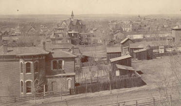 Denver in the 1800s. Image Courtesy of Wikimedia Commons.
