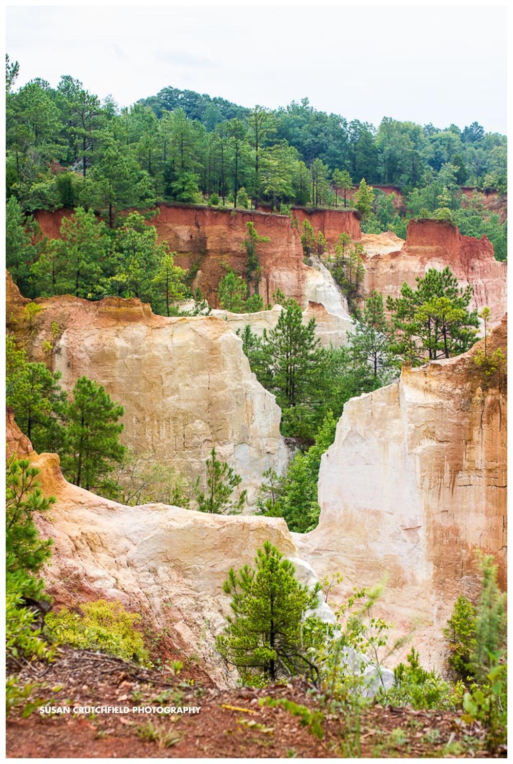Providence Canyon State Park Lumpkin, Georgia