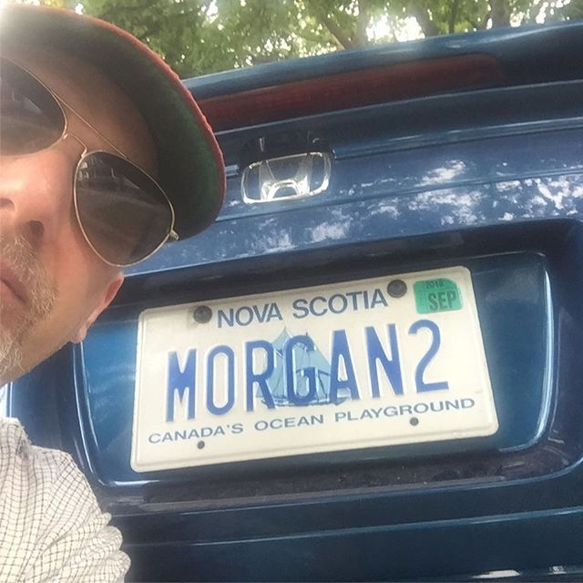 Looks like I'm at least Morgan 3, if I want a vanity plate...