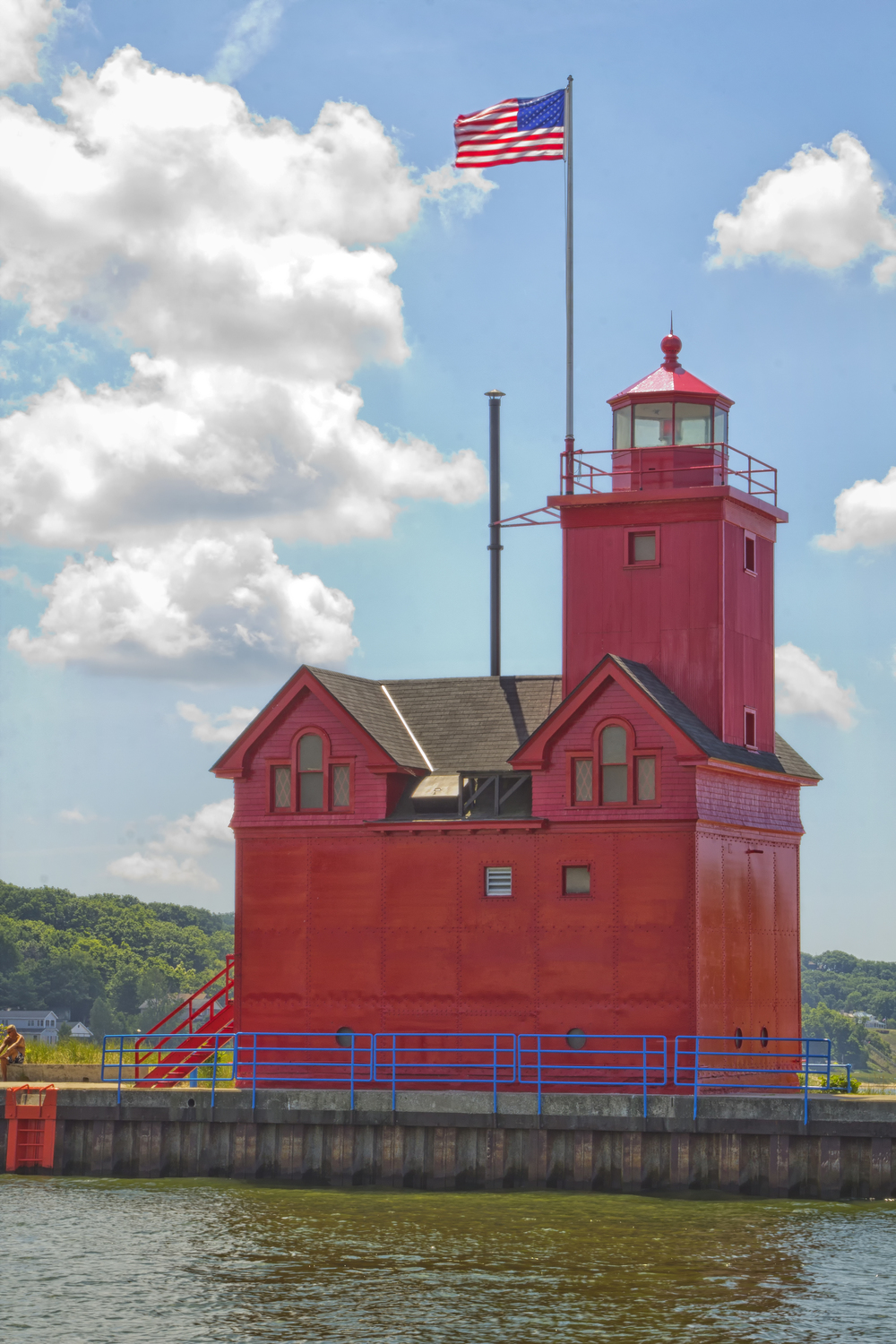 Photo by James Lundeen Big Red Lighthouse, Holland, Michigan