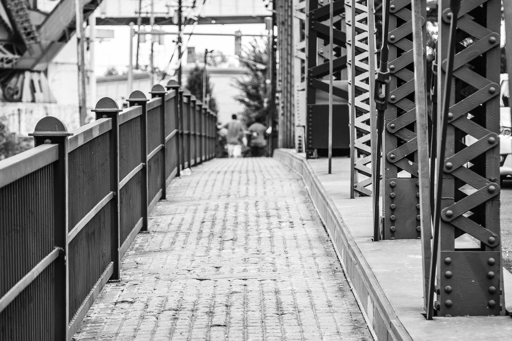 Another treatment to the Swing Bridge. I work in Camera Raw when editing pictures.
