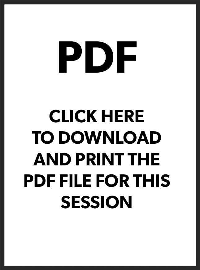 To get access to the PDFs, videos and sessions 2-8, become a paying member by clicking above and sign up!