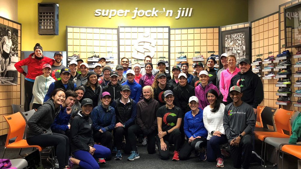 Seattle Kick Off @ Super Jock 'N Jill - Greenlake